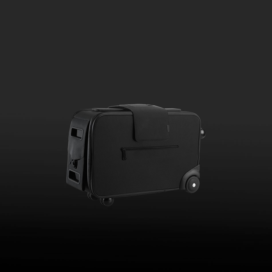 four wheel luggage, innovative luggage design